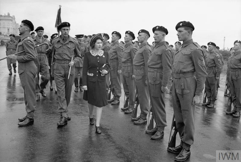 Inspection Princess Elizabeth