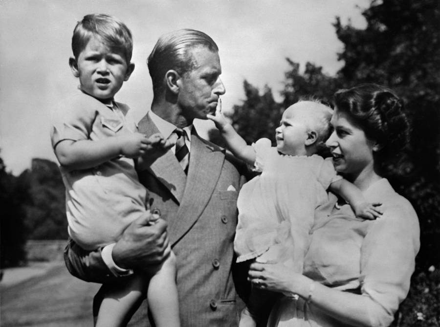 Prince Philip With Kids