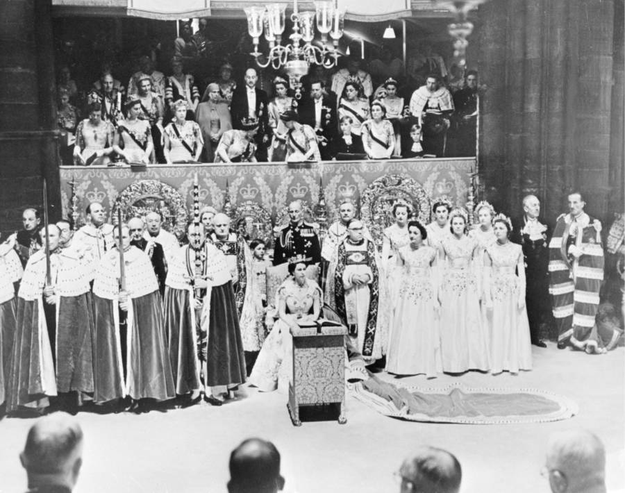 Coronation At Westminster Abbey