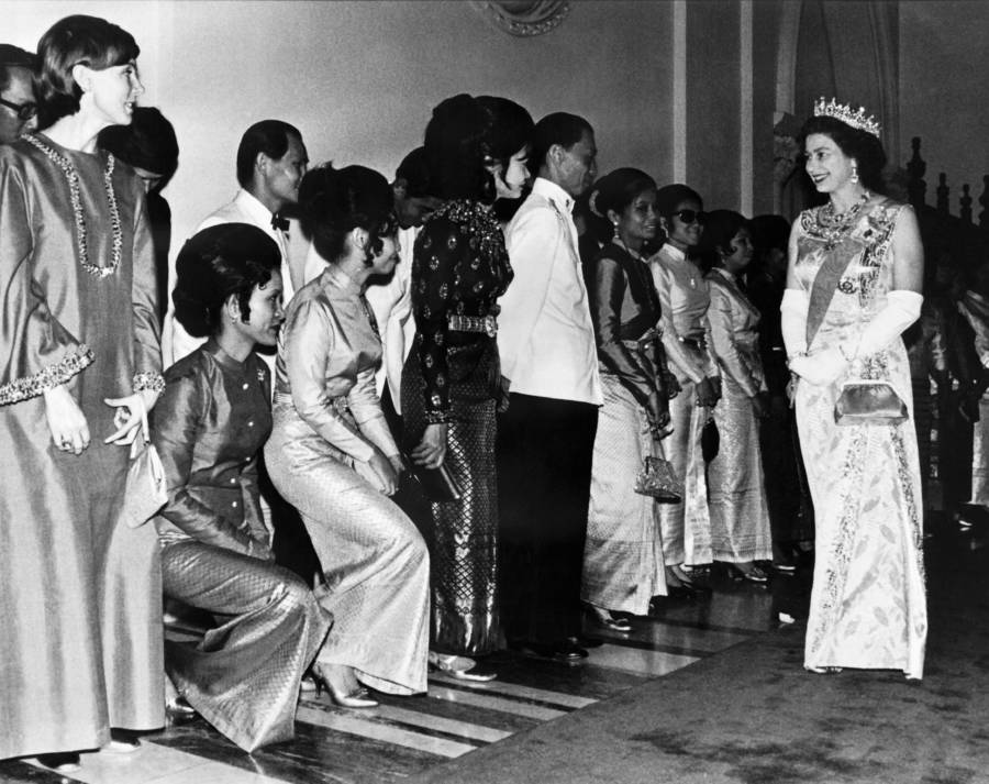 Queen Elizabeth II Visits Thailand