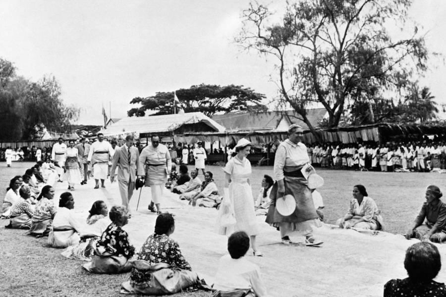 Queen Elizabeth Ii Tonga