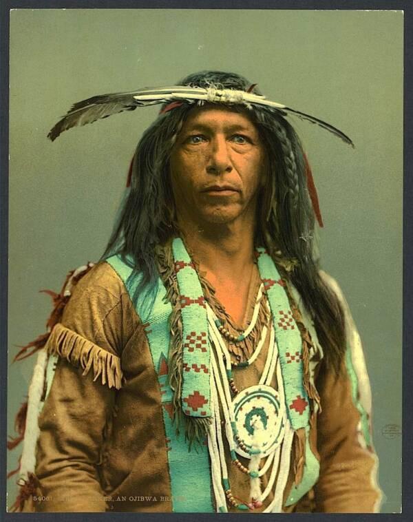 Arrowmaker Ojibwe Man