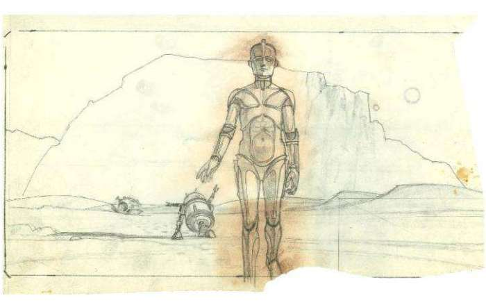 Concept Art Of The Star Wars Droids