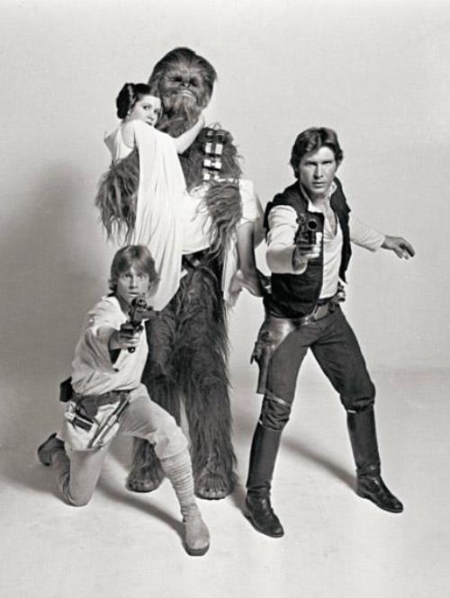 Cool Photos From The Original Star Wars