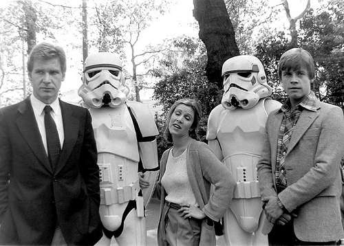 Funny Star Wars Cast Picture
