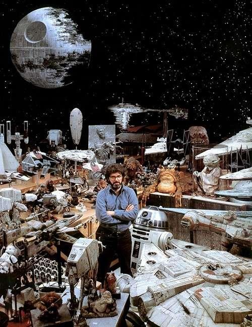 George Lucas Star Wars Miniatures