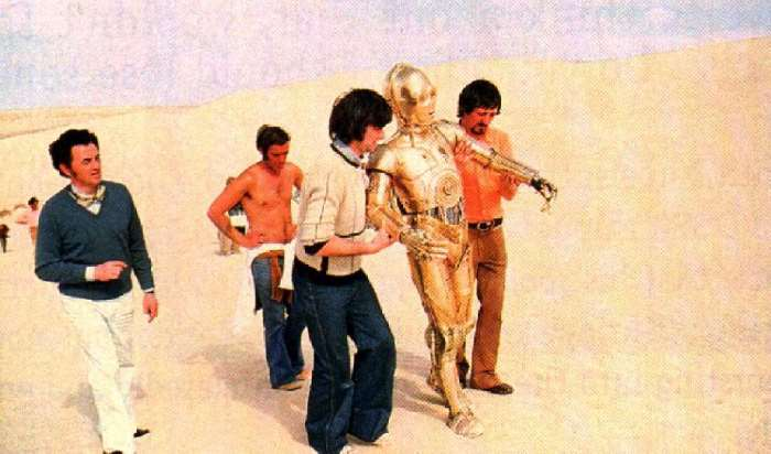 Helping C3po Walk