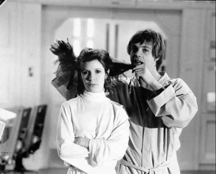 Mark Hamill And Carrie Fisher Photo