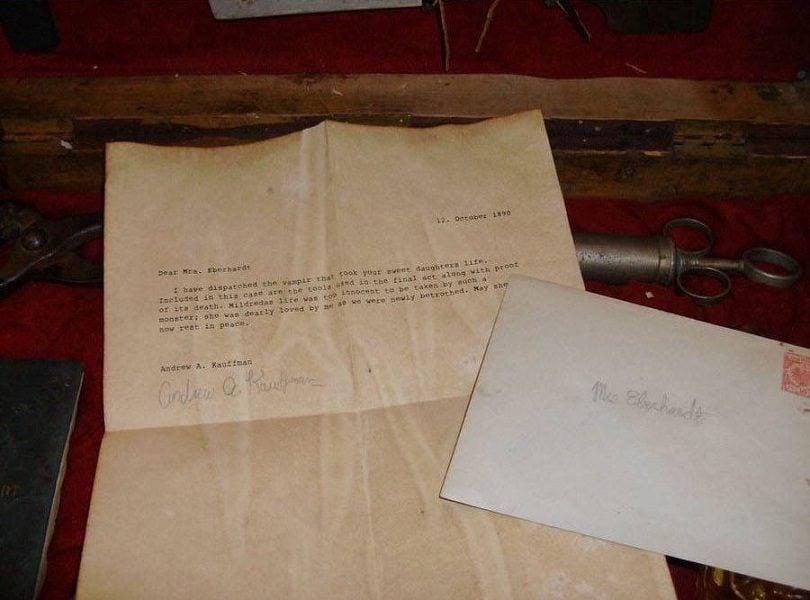 Vampire Kit Letter