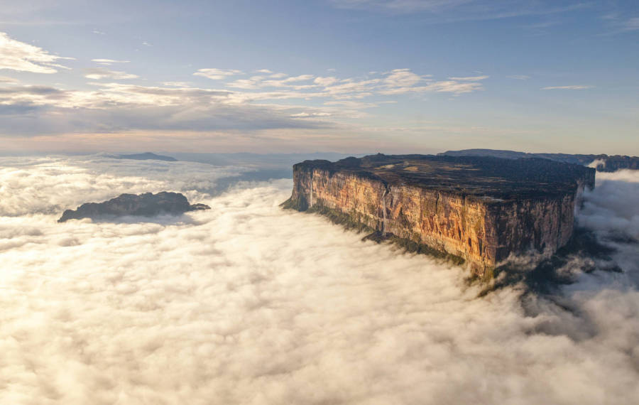 Clouds Surrounding Mount Roraima