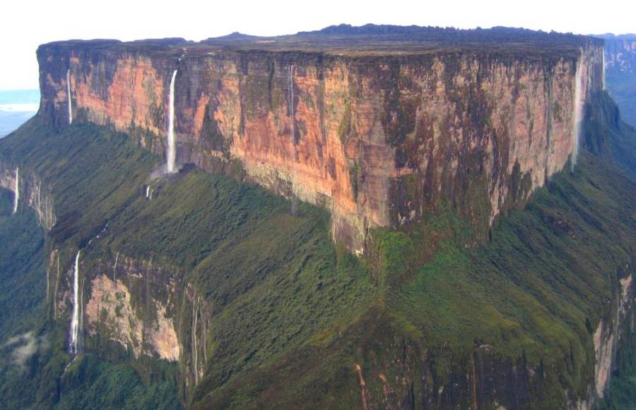 Mount Roraima Waterfalls