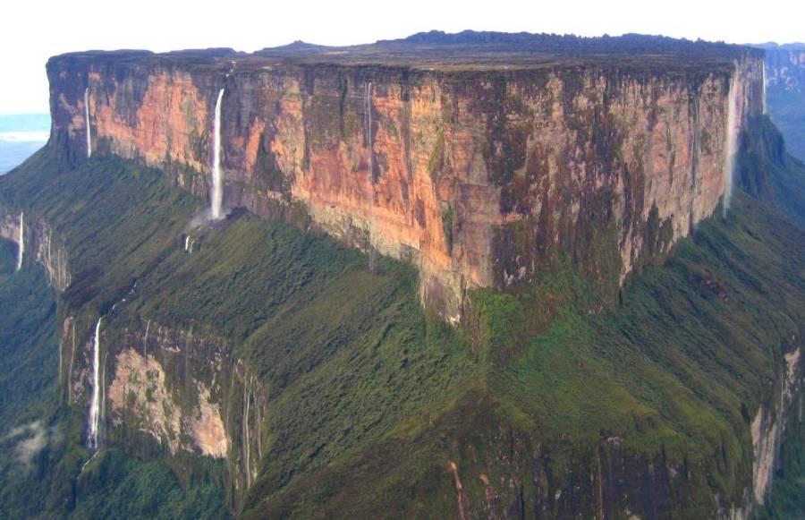 Mount Roraima Waterfalls