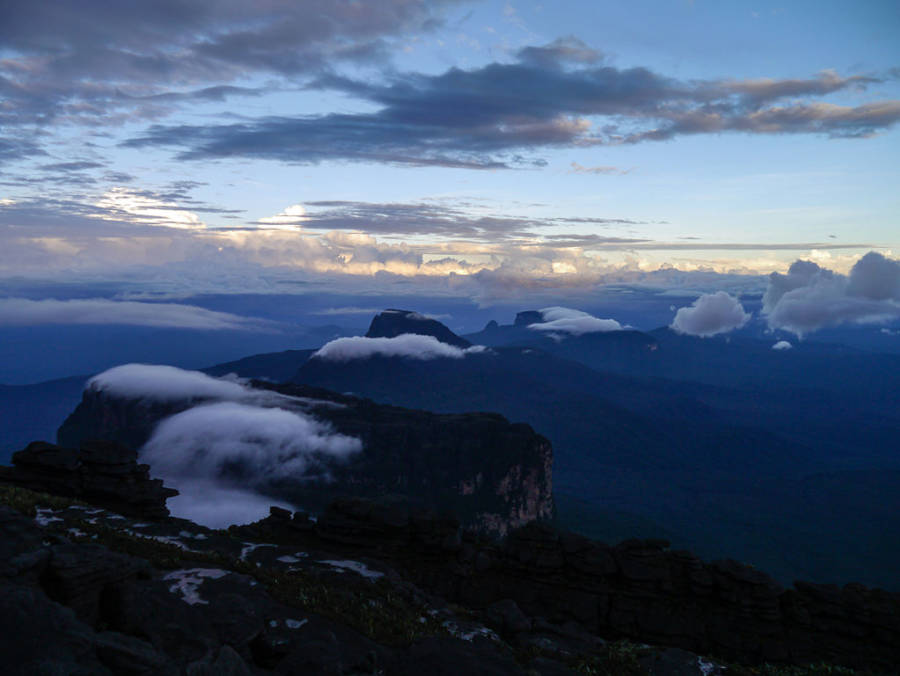 Blue Clouds Near Roraima