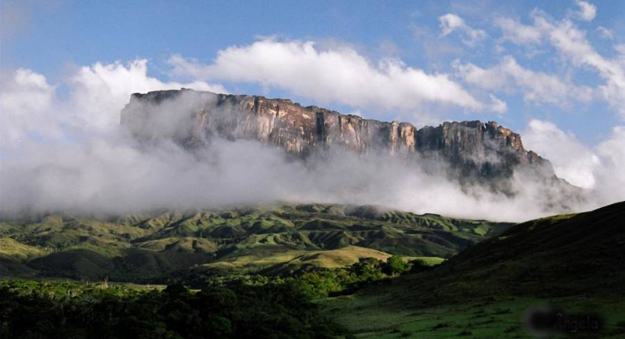 Mists Around Mount Roraima