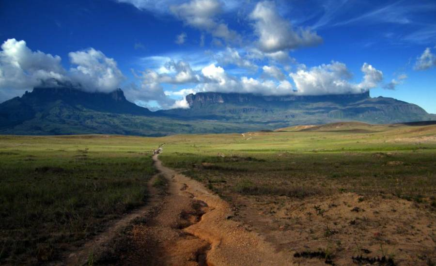 Path To Mount Roraima