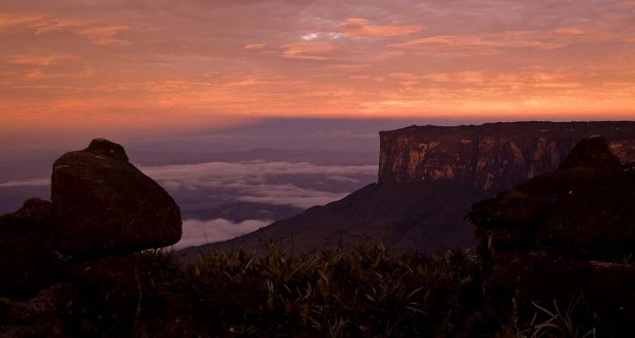 Sunset Near Roraima