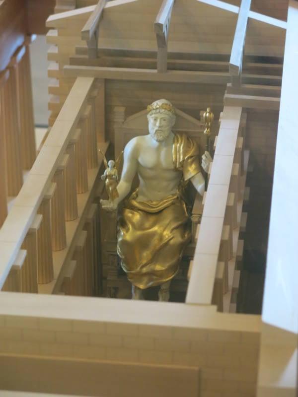 Zeus Statue Model