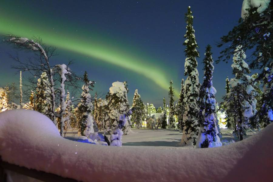 Green Streak Northern Lights
