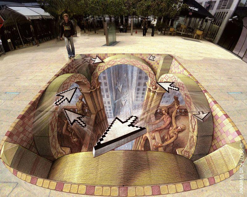 Kurt Wenner 3d Street Art
