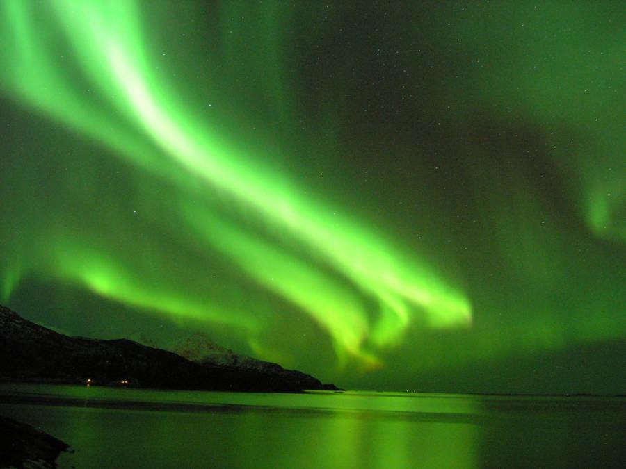 Northern Lights In Tromsoe