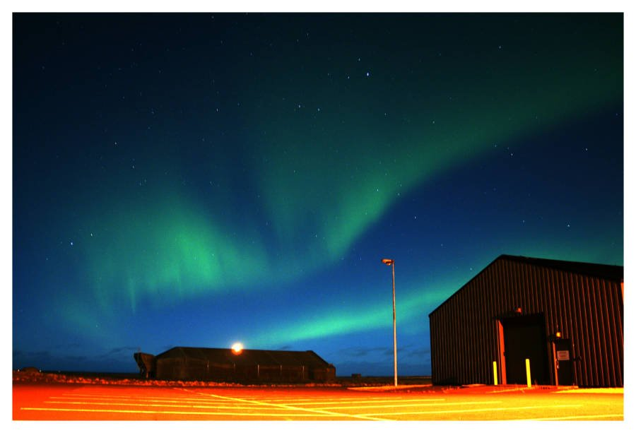 Northern Lights Parking Lot