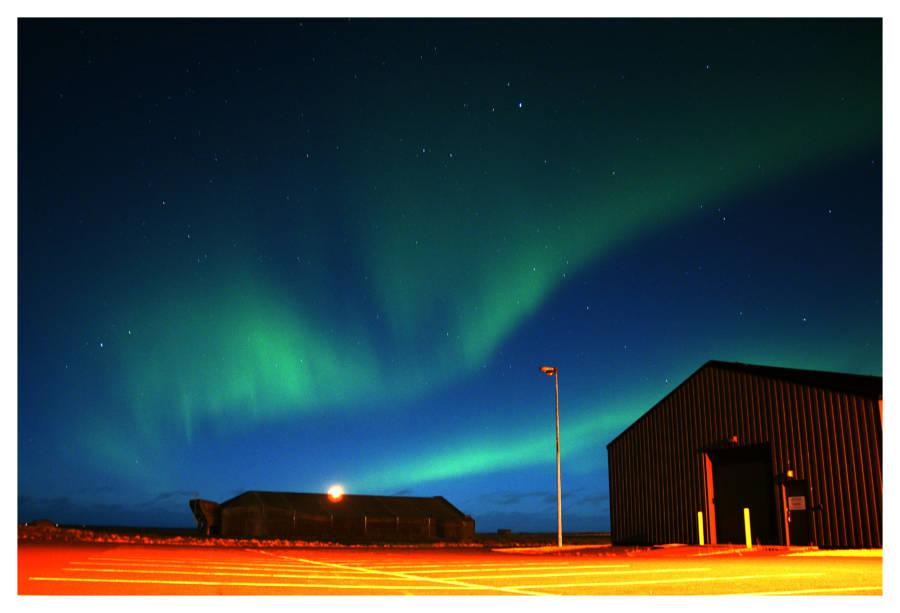 Northern Lights Parking Lot