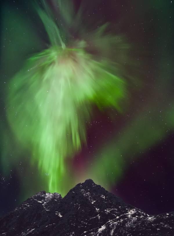 Northern Lights Starburst