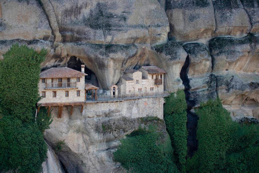 Cliff Monastery
