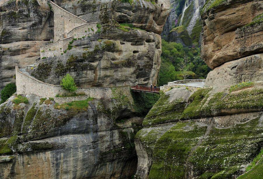 Stairs To Meteora Monasteries
