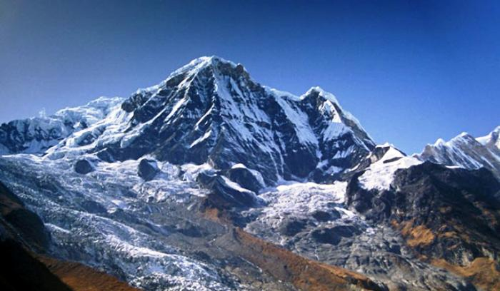 Annapurna Mountain Photograph