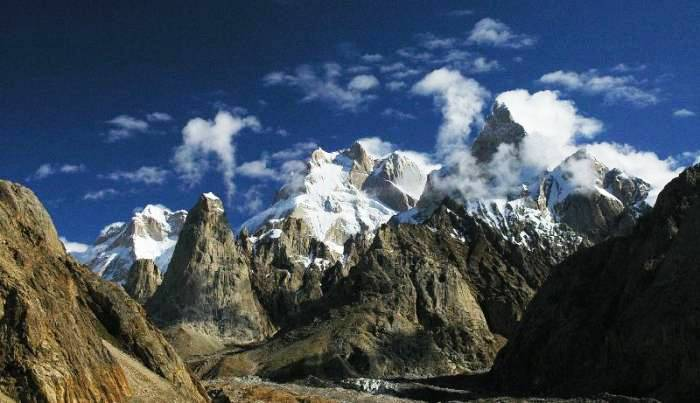 Baintha Brakk Mountain of Pakistan