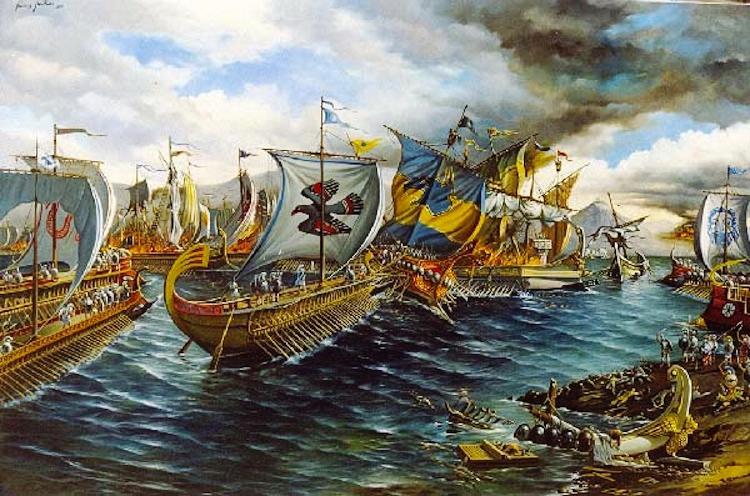 Battle Salamis