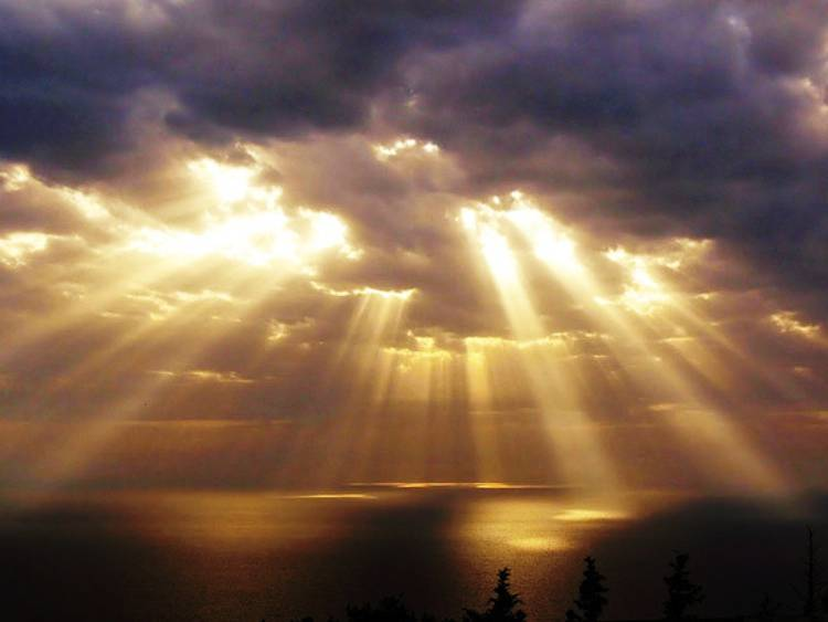 Crepuscular Rays Photograph