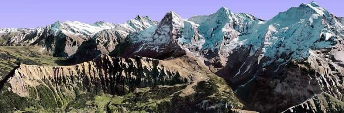 Mordwand Swiss Alps Picture