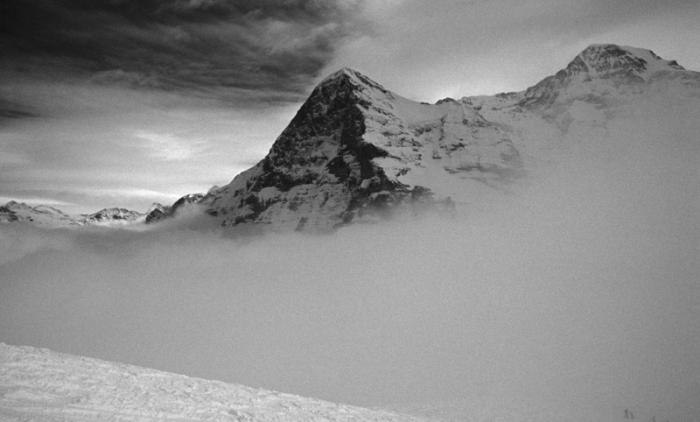 Eiger Mountain Treacherous Climbs