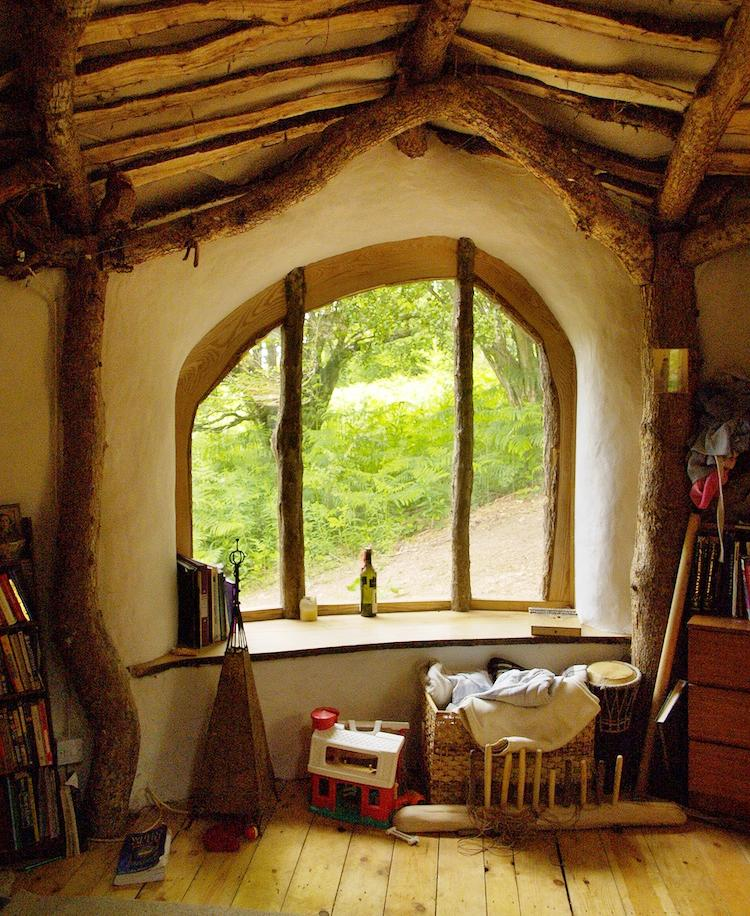Take A Tour Of The Eco-Friendly Hobbit House Of Wales