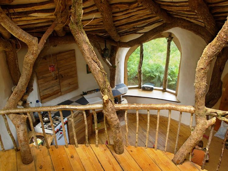 Hobbit House Inside Photograph