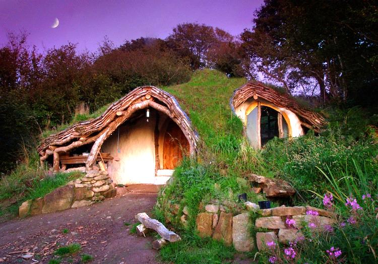 Hillside Hobbit House Photograph