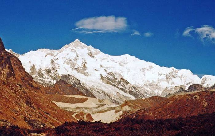 Kanchenjunga Nepal and India Photograph