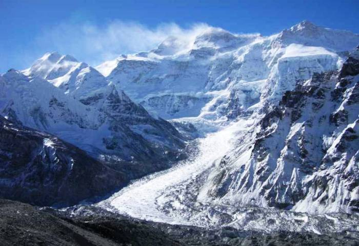 Peak of Kanchenjunga Nepal