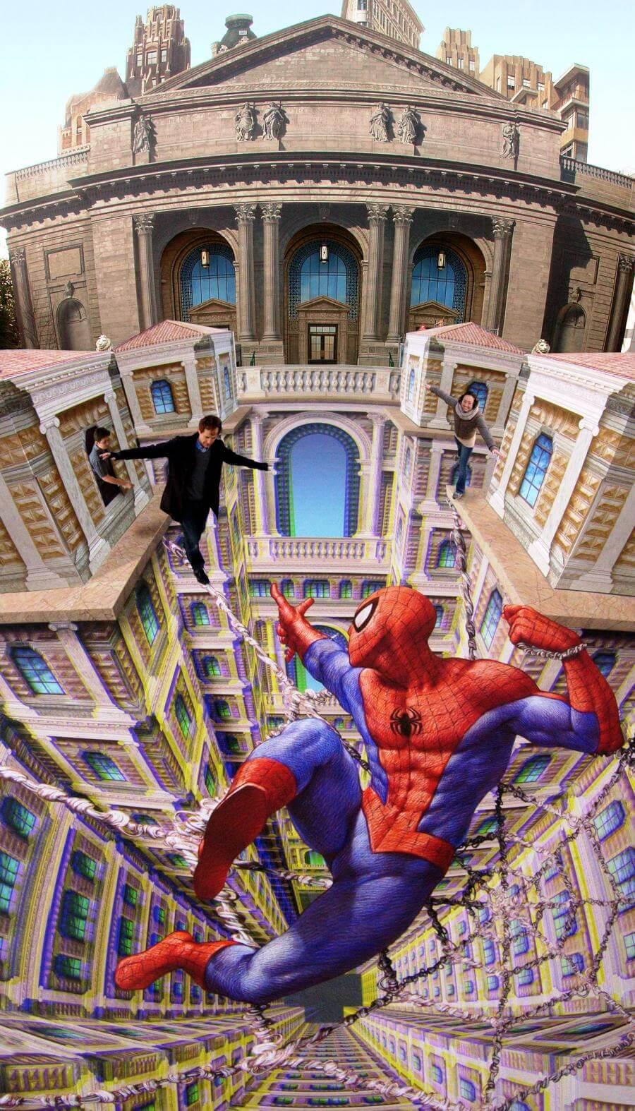 Spiderman Street Art Photograph