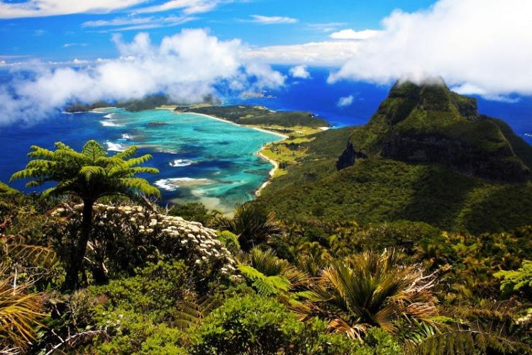 Photograph Of Lord Howe Island