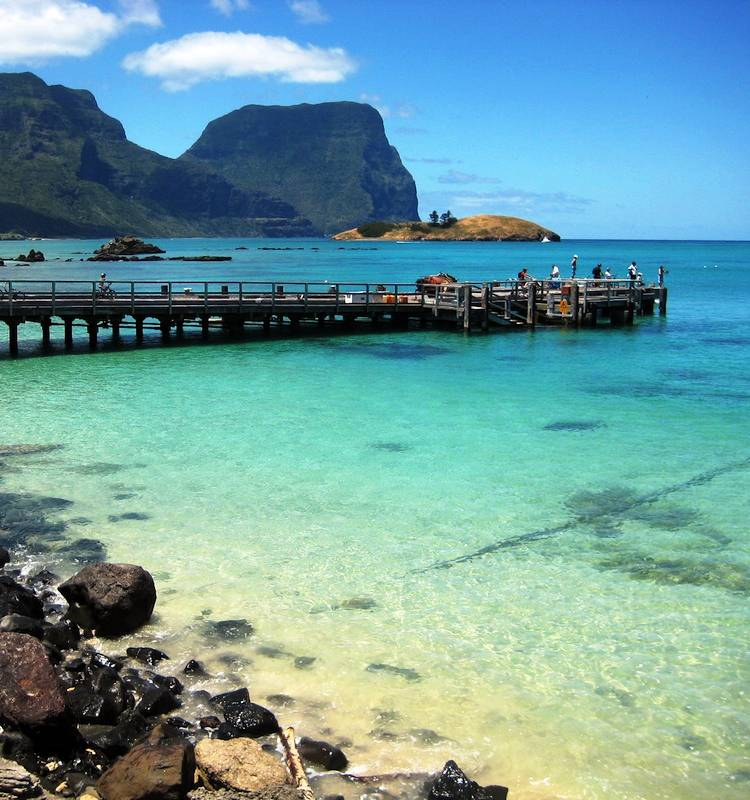 Lagoon of Lord Howe Photograph