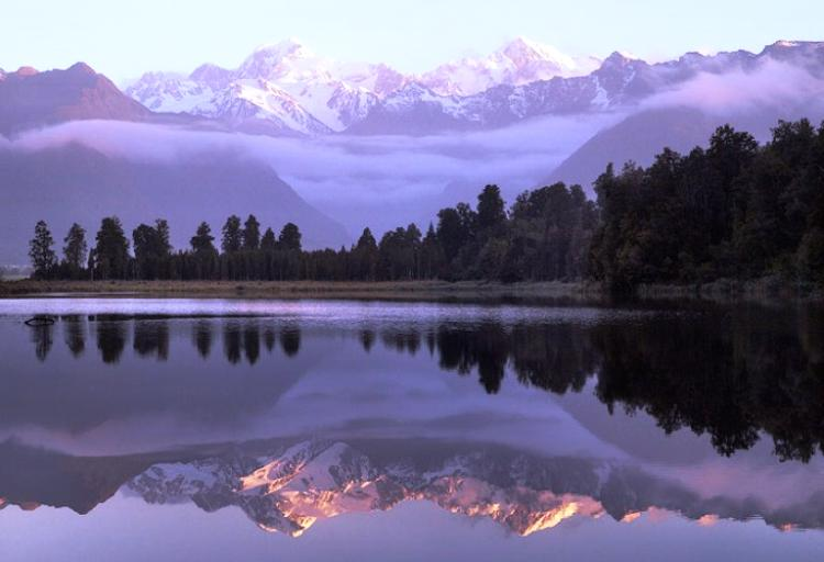 Beautiful Lakes Lake Matheson