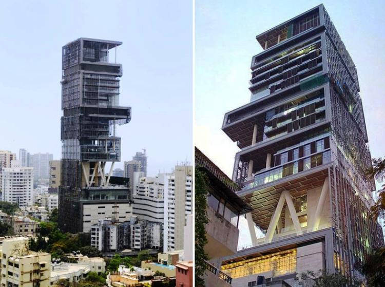 Antilia: Incredible Images Of The Most Extravagant House In