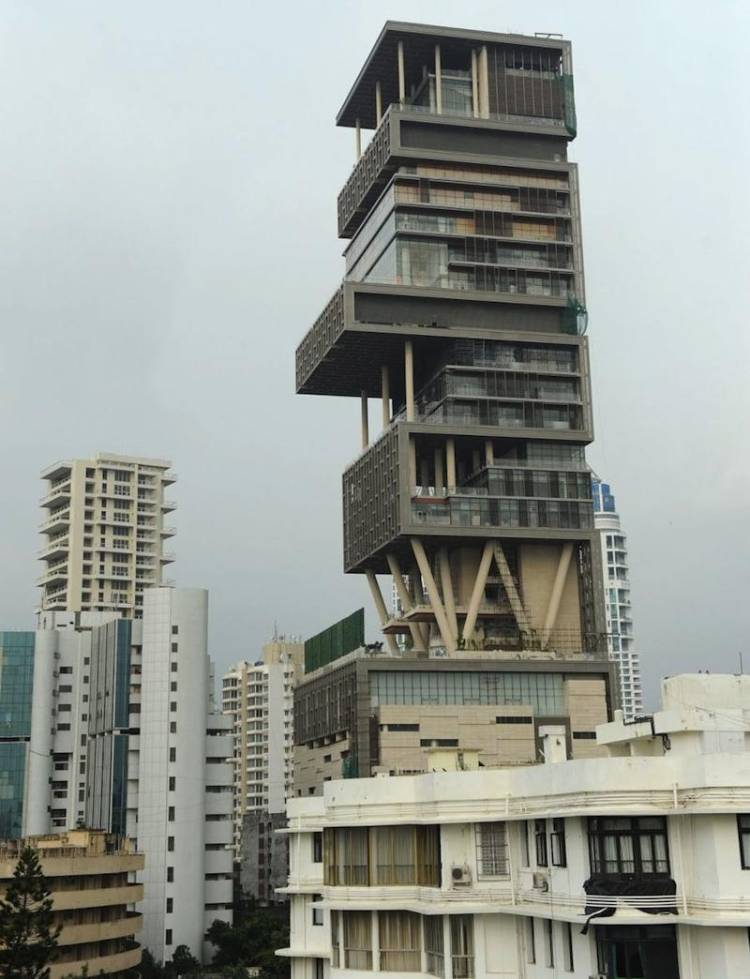 Antilia the most extravagant house in the world Indian building photos