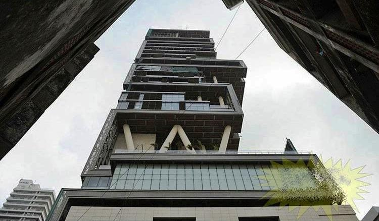 View from Below of Antilia