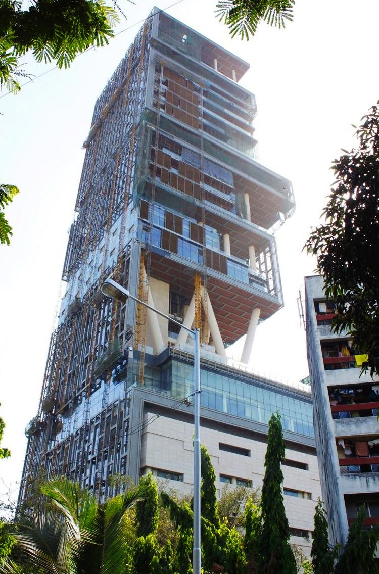 Merveilleux Antilia House Picture