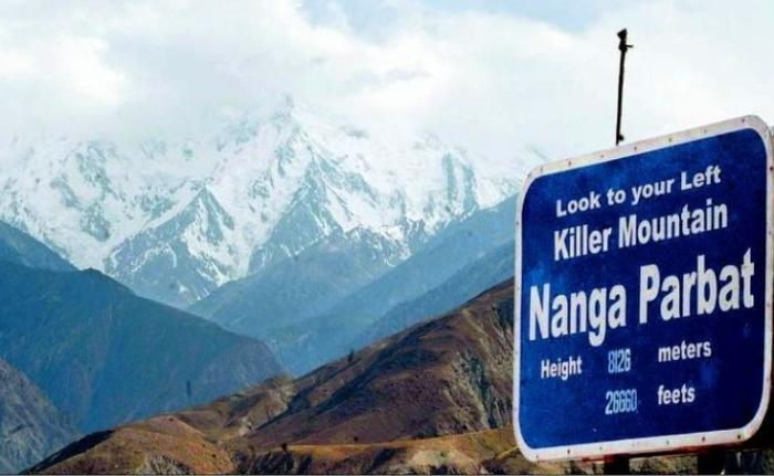 Treacherous Climb Nanga Parbat Photograph