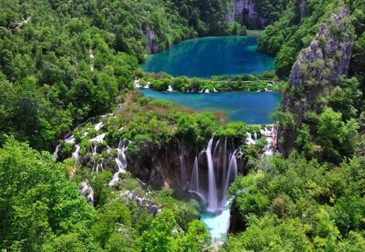 Beautiful Lakes Plitvic Croatia